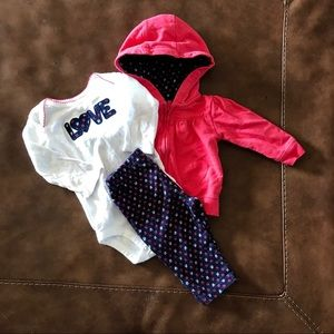Other - Carters 3 piece outfit. 6M